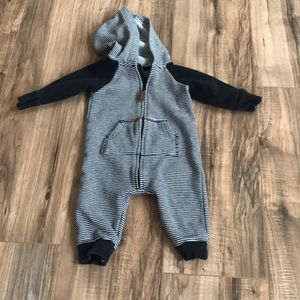 Carters zip up one piece